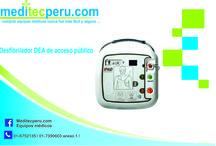 Desfirbiladores en Perú / Desfibriladores DEA en Lima- con paletas desechables y reusables.