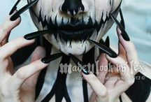 Halloween maquillage adulte / by France Guilbault