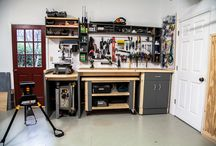Custom Rockwell Workbench / Complete the ultimate workshop with a custom workbench crafted with Rockwell Tools #RockwellTools / by Rockwell Tools