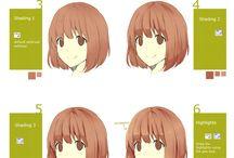drawing - hairs