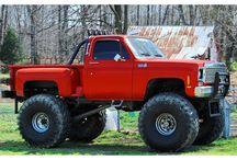 Lifted trucks