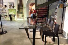 tavolo ferro e vetro