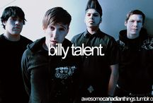 Billy talent...