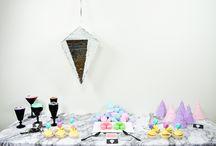 Gems Party - Pierres précieuses / Anniversaire sur le thème des pierres précieuses.