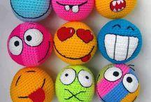 háčkováné hračky