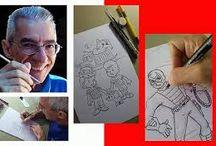 Sketch Artes - Moacir Torres / Rafes e Artes feitas por Moacir Torres