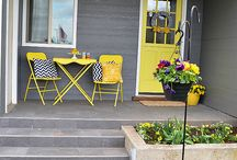 Front porch and steps