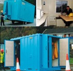 Site Accommodation / HSS Hire can provide safe and comfortable on site accommodation for those extensive jobs.   #toolhire #equipmenthire #hss #hsshire #accommodation #security