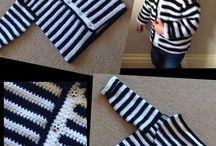 Háčkovaný svetřík