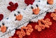 Chicken border blanket