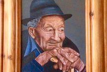 Schilderijen Josje schildert natuurlijk.
