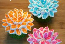 marshmallow virágok