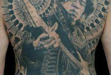 Tatuering a la projekt / Porträtt