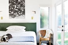 BEDROOM :: SPACES / Inspiring me to add colour to my bedroom.