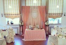 Наши свадебные проекты. / Красивые свадебные декорации в г. Липецке от ArtWay&KateKyzey