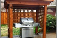 BBQ paved area