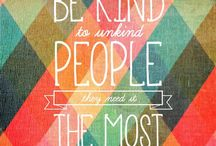 Kindness / About kindness