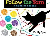 Follow the Yarn: A Book of Colors / In this delightful introduction to colors, toddlers — and cat lovers of all ages—will enjoy following a kitten through the pages as he plays with one colorful ball of yarn after another. Toddlers can also make a game of following the yarn from page to page as each color unravels.