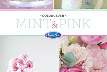 Color Crush / Wedding Cake Color Combinations to Fall in Love With For Your Big Day!