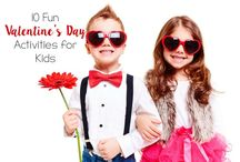 Blessed Valentine's Day / Here are some ideas and activities for children and family in Valentine's Day