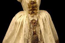 XVIII dresses
