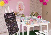 Festa Jardim de passarinhos / Festa linda, decoração, doces, personalizados @danicananica