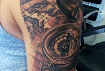 Map Tattoos
