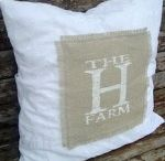 Burlap DIYs / by The Painted Home