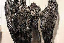 Biomechanical wings