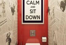 washrooms & restrooms