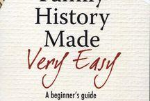 Family History / Family history, genealogy  / by Tara Ormsby