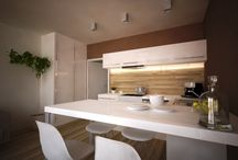 Interiér projektu / Interiér bytov na 3 až 11 NP