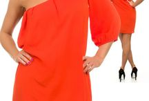 Orange Love / We're obsessed with orange, the perfect Spring 2014 color. Shop the trend on Ladiesfashionsense.com!