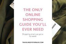 FASHION TIPS / Fashion and shopping tips