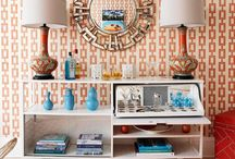 Mixing patterns, colour and texture / How to introduce pattern into a room