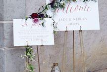 Matrimonio- welcome