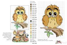 Owls to stitch