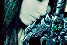 fantasy, warriors and mythology