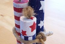 Fourth of July crafts / by Jackie Hood