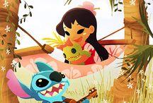 Lilo e Stitch ,<3