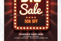 Sale Promotion Ads Flyer Poster Banners