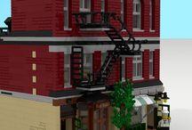 Lego Fassaden