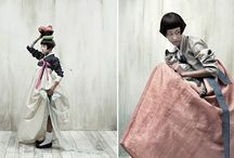 summer pastel / Hanbok, Korean Traditional clothing, summer linens, Vogue Korea, summer clothes, summer dress, natural dyes, natural colors