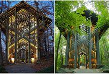Arquitetura Sustentável / Obras que levam em consideração a Sustentabilidade.