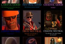 Team Fortress 2 / I love team fortress! They're funny, awesome, and more!