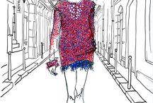 Fashion Illustration / Anna Granat Fashion Illustration