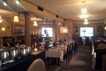 Darbar Restaurant Renovation Branford CT by ASG Painting Serving New Haven and Fairfield CT Counties / We used a neutral, two-toned color palette to update the interior of this popular Branford restaurant.
