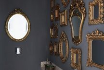 Antique Frame Love / Antique frame love and display ideas.