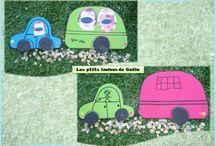 Bricolages pour l'été par les p'tits loulous de Gaëla / Bricolages et activités des enfants/assistante maternelle