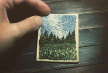 Вышивка картинами